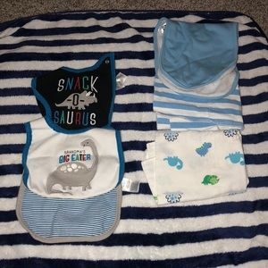 Carters Bibs and burp cloths!